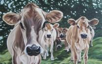 Cosmic Cows, 30 x 48
