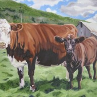 Flamstead Cow and Calf