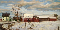 Peaceful Valley Farm, 18 x 36
