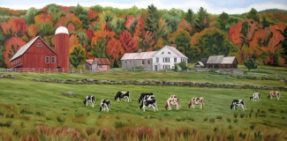 Weston Farm, 24 x 48