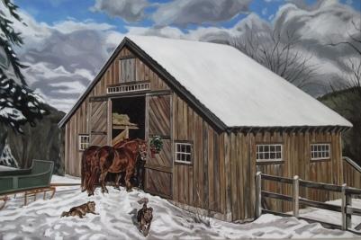 Hill Top Farm, 24 x 36