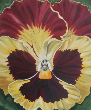 Pansy, 20 x 24 - sold