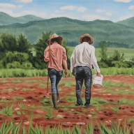 The New Agrarians, 20 x 30
