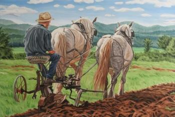 Speed the Plough, 24 x 36