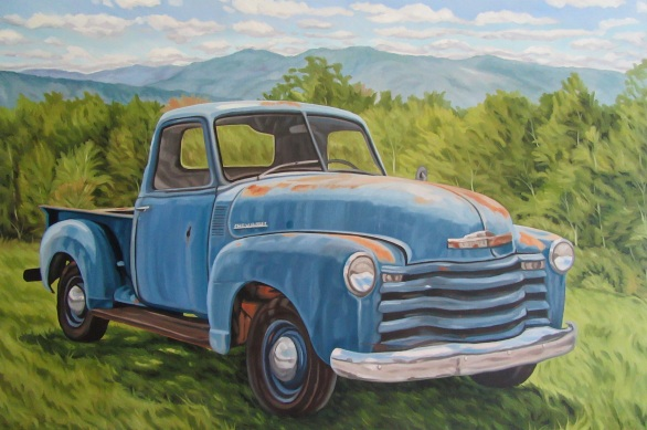 Out to Pasture, 24 X 36