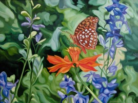 Fritillary, 20 x 24 inches