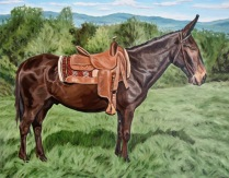 Mule, 24 x 30 inches