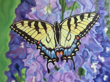 Swallowtail, 16 x 20 inches