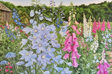 Cutting Garden, 24 x 36